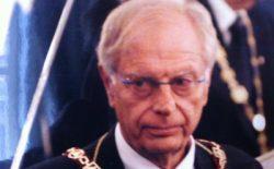 Addio al fratello Corrado Balacco Gabrieli. Guidò il Rito Scozzese Antico e Accettato dal 2001 al 2009