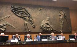 """Milano. Convegno all'Umanitaria, David Monti: """"Incredibile che un magistrato non debba andare dove si difende la libertà""""."""