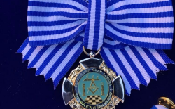 Conferita al Gran Maestro Stefano Bisi la massima onorificenza della Serenissima Gran Loggia di San Marino