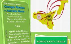 Primo collegio interregionale Calabria-Sicilia il 28 gennaio
