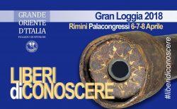 Liberi di conoscere. Gran Loggia 2018, appuntamento al Palacongressi di Rimini dal 6 all' 8 aprile