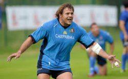 Domenica 8 aprile in Gran Loggia l'ex capitano della nazionale di Rugby Lo Cicero