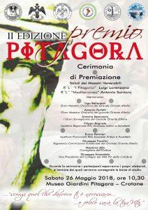 Crotone. Il Grande Oriente consegna le borse di studio del Premio Pitagora