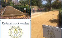 Termini Imerese, riaperta Villa Aguglia. Alla riqualificazione ha contribuito la Loggia Giordano Bruno