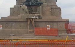 Il Grande Oriente pronto a contribuire al restauro della statua di Garibaldi danneggiata dal fulmine