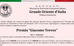 Premio Giacomo Treves. Al via la tredicesima edizione nell'anniversario della Breccia di Porta Pia