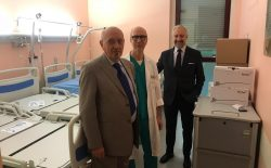 Asti. Il Grande Oriente d'Italia dona due letti cardiologici all'Ospedale Cardinal Massaia