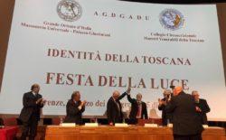 Il Gran Maestro spagnolo Ortega alla Festa della Luce di Firenze | video