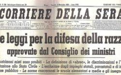 Il Manifesto della Razza e le Leggi Razziali. Incontro con il rabbino capo Luciano Caro nella casa massonica di Ferrara il 12 giugno