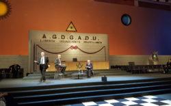 I pilastri della Costituzione. Il presidente emerito della Consulta Flick conversa nel tempio del Goi con Alessandro Barbano | video