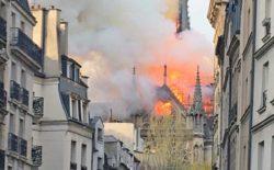 Rogo di Notre-Dame. Il Grande Oriente vicino ai fratelli di Francia e al popolo francese