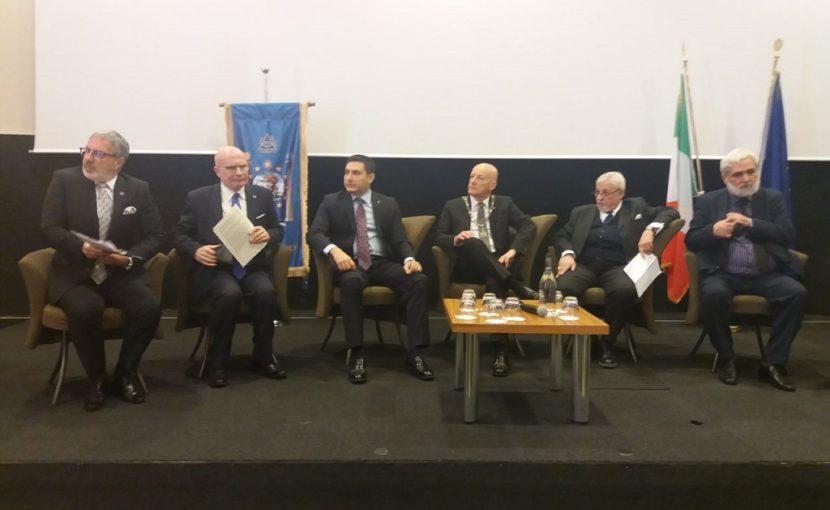 Meeting a Matera delle logge italiane ed estere intitolate all'Europa. Un incontro per progettare il futuro nel segno della cultura, della tolleranza, della fratellanza e dell'uguaglianza