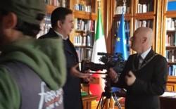 Il Vascello ha aperto le porte alle telecamere di  Freedom – Oltre il confine. Il Gran Maestro Bisi intervistato da Giacobbo