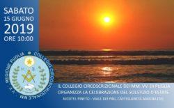 Il Collegio della Puglia celebra il Solstizio d'Estate a Castellaneta Marina. Il sindaco partecipa alla cerimonia pubblica