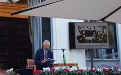 Francesco Rutelli al Vascello  ha raccontato la Roma dei primi del '900  di Ernesto Nathan, Ettore Ferrari e del bisnonno Mario | video