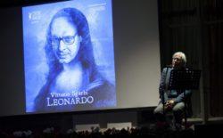 Il Leonardo di Vittorio Sgarbi in scena al Grande Oriente | video