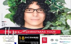 """A Bologna ancora il """"Concerto per un Sorriso"""" a favore di Face3D. Il 18 dicembre protagonista Giovanni Allevi"""