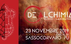 Il 23 novembre a Sassocorvaro si inaugura il Museo dell'Alchimia