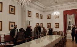 Una delegazione dell'Ambasciata di Spagna in visita al Vascello