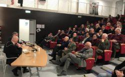 """Tanto pubblico a La Spezia alla presentazione del libro del Gran Maestro """"Mitra e Compasso"""""""