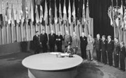 75 anni fa nascevano le Nazioni Unite. Il sogno realizzato di tre grandi statisti e liberi muratori, Roosevelt, Churchill e Truman