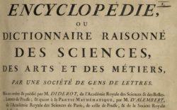 Il dibattito sul progresso delle scienze a partire da Diderot, grande padre dell'Encyclopedie