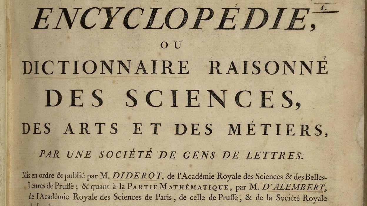 Il dibattito sul progresso delle scienze a partire da Diderot, grande padre  dell'Encyclopedie - Grande Oriente d'Italia - Sito Ufficiale