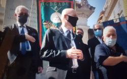 """Il Gran Maestro Stefano Bisi a Porta Pia per lo storico anniversario. """"Noi c'eravamo 150 anni fa, ci siamo oggi e ci saremo sempre per difendere il libero pensiero e la Libertà""""/Video"""