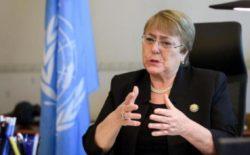 """EVENTI 2020, 1 DICEMBRE. L'Alto Commissario delle Nazioni Unite Michelle Bachelet: """"Abbiamo bisogno dei principi massonici, come la solidarietà e  la fratellanza"""""""
