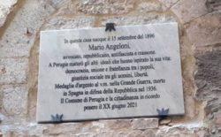 Celebrazioni del XX Giugno a Perugia. Una targa per Angeloni, antifascista e massone e l'inaugurazione della nuova illuminazione del monumento ai Caduti da parte del Collegio del Goi Umbria