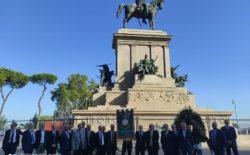 XX Settembre. L'appello del Gran Maestro Stefano Bisi ai candidati sindaco di Roma a completare i lavori di restauro al monumento all'Eroe dei due mondi transennato da tre anni. Poi la cerimonia a Porta Pia (Video)