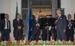 """XX Settembre. Consegnata la """"Galileo Galilei"""" al professore Andrea Carandini, presidente del Fai"""